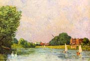 River Thames at Hampton Court