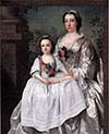 A Lady and Child