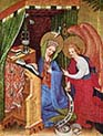 Passion Altarpiece-Left Wing-Mary Annunciation