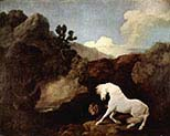The Horse Embarrassed by a Lion