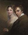 Self-Portrait of the Artist Painting His Wife