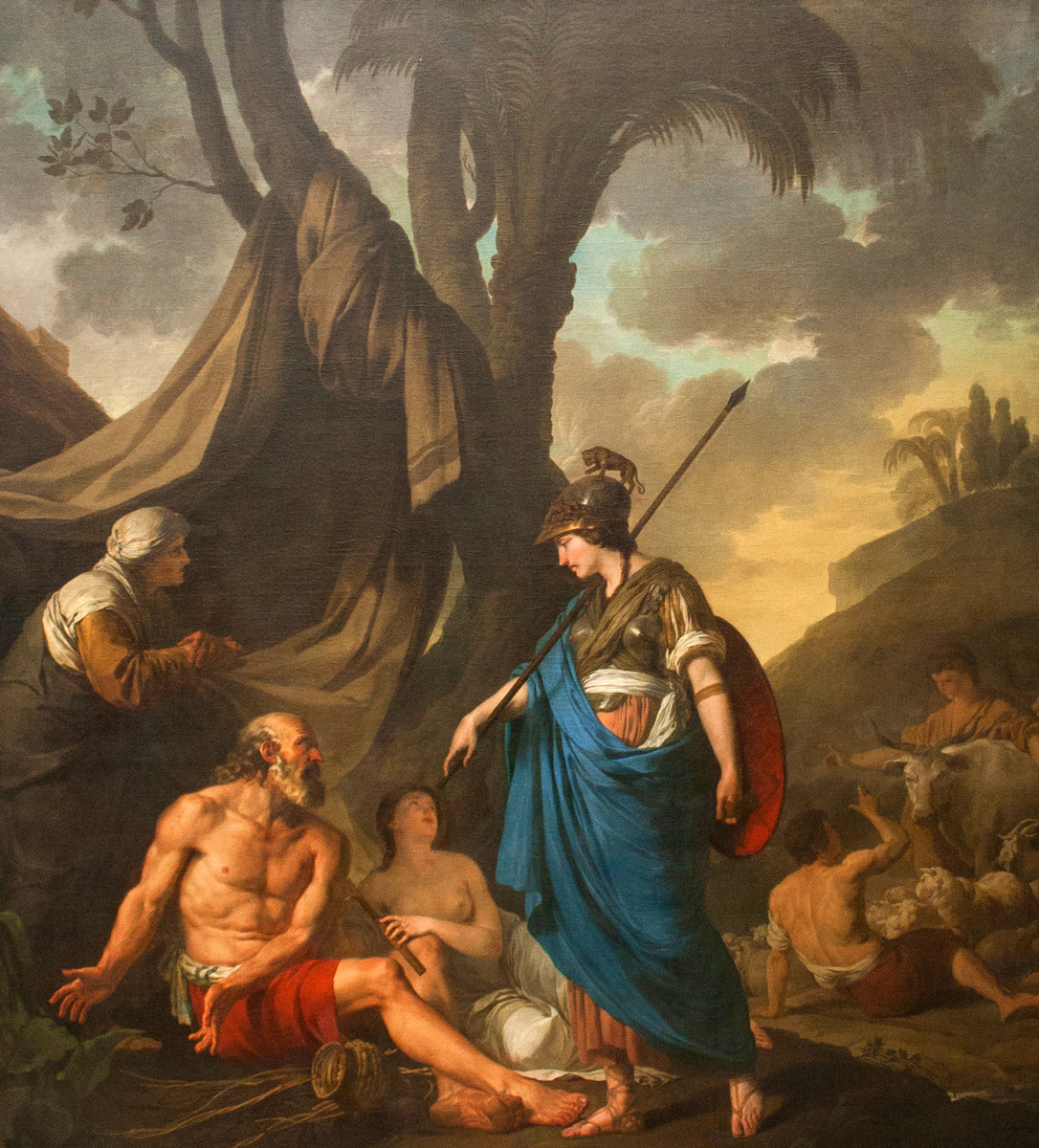 erminia and the shepherds
