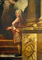Self-portrait-The Painted Hall of the Greenwich Hospital-Greenwich-London
