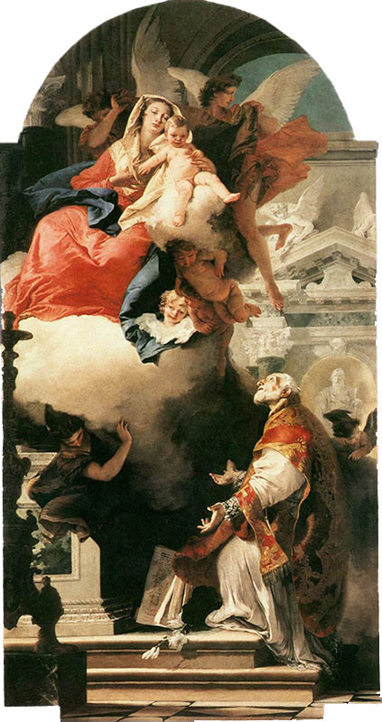 The Virgin Appearing to Saint Philip Neri