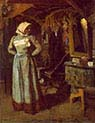 Young Woman in the Atelier