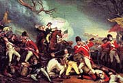 Death of General Mercer at the Battle of Princeton