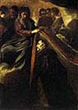 Saint Ildefonso Receiving the Chasuble from the Virgin