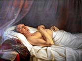duke frederick william on his deathbed