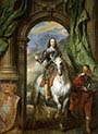 Charles I with Seigneur de St Antoine