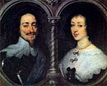 Charles the First of England and Henrietta of France