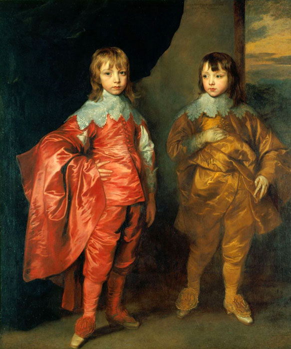 George Villiers Second Duke of Buckingham and his Brother