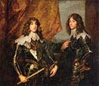 Princes Palatine Charles-Louis the First and his Brother Robert