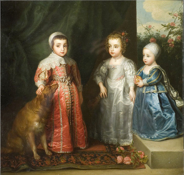 Three Children of Charles the First