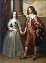 William the Second Prince of Orange and Henrietta Mary Stuart Daughter of Charles the First