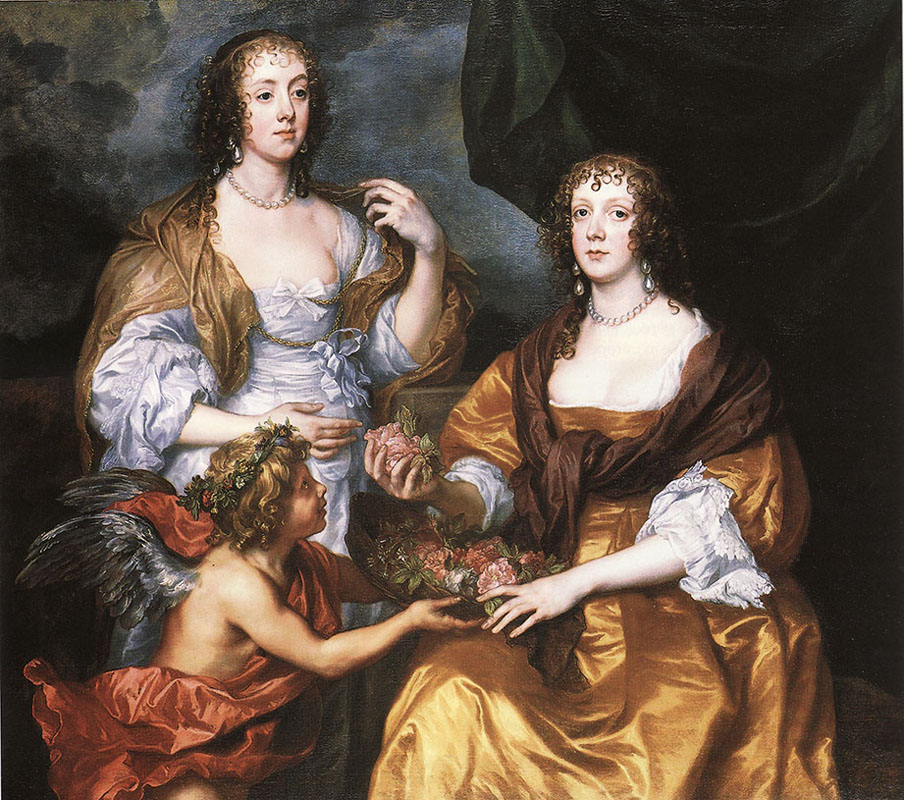 Lady Elisabeth Thimbleby and Dorothy, Viscountess Andover