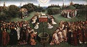 Ghent Alterpiece Adoration of the Lamb