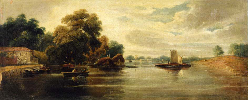 view of the thames looking towards battersea