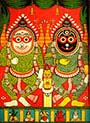 Jagannath Lithograph