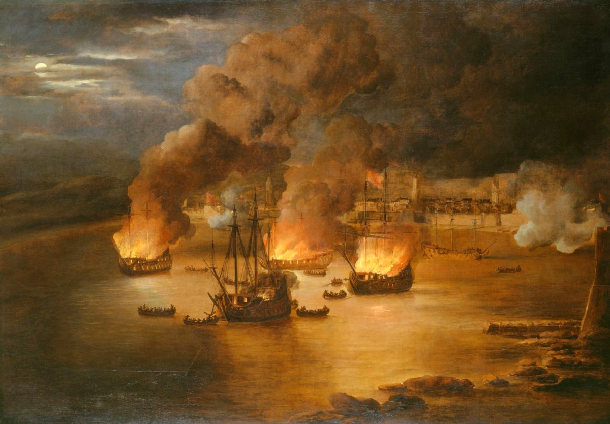 the attack on shipping in tripoli