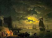 Port of Palermo by Moonlight g