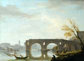 view of the ponte rotto rome