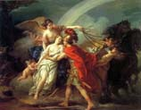 venus wounded by diomedes is saved by iris