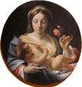 madonna with a rose
