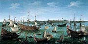The Arrival at Vlissingen of the Elector Palatinate Frederick The Fifth