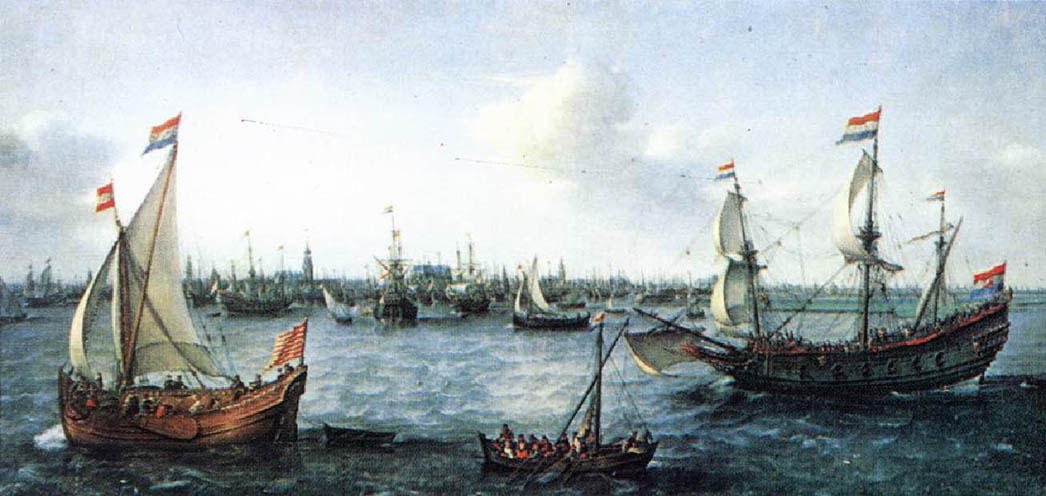 The Harbour in Amsterdam