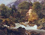 Mill at the Outlet of the Konigssee