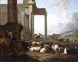 Shepherds and Flocks among Classical Ruins