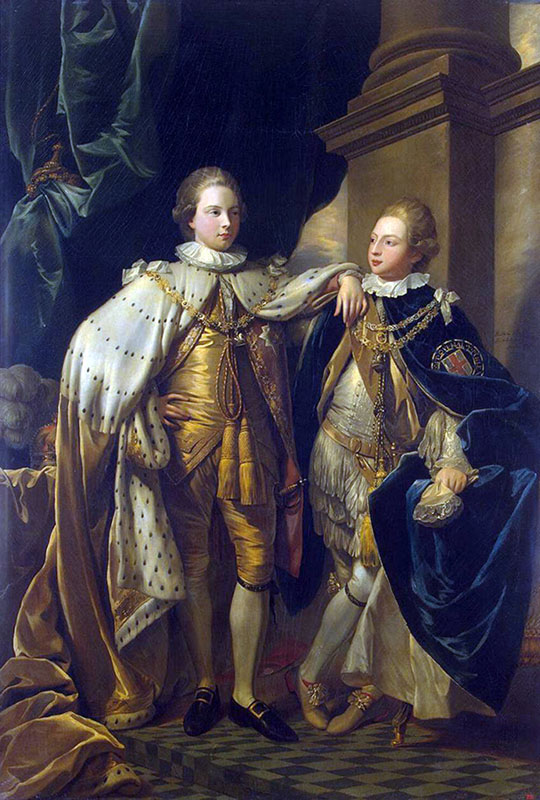George-Prince of Wales and Prince Frederick