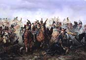 horse guards regiment at the battle of fere-champenoise