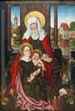virgin and child with saint anna in memory of anna gross