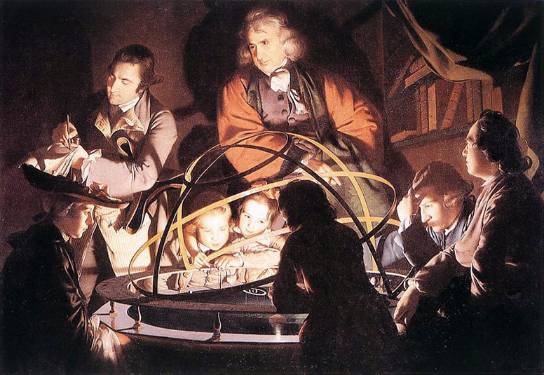 Philosopher Lecturing on the Orrery