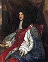 Charles The Second in Garter Robes