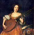 Lady with a Theorbo