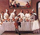 Saint Hugo of Grenoble in the Carthusian Refectory